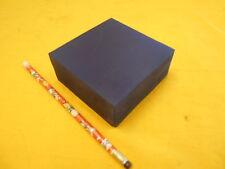 BLUE POLYURETHANE BAR plastic sheet flat stock 1.710