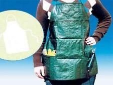 Gartenschürze Schürze Arbeit Garten Gärtner Kittel Einstecktaschen + Brusttasche