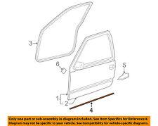 GM OEM Front Door-Lower Weatherstrip Weather Strip Seal 15758049