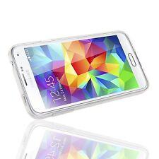 Pour Samsung Galaxy S5 MINI Coque Etui Gel Silicone Tpu Lisse Transparent