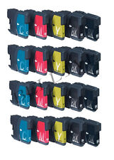 20 CARTUCCE STAMPANTE PER BROTHER LC980 LC1100 MFC 255CW 295CN DCP 163C 167C