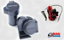 Denali soundbomb Split Duel tono Motocicleta Aire horn120 Db Con Plug N Play Kit