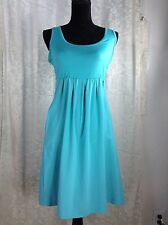 Columbia Omni-Shade Sun Protection Zephyr Heights Dress Women Size S Aqua Blue