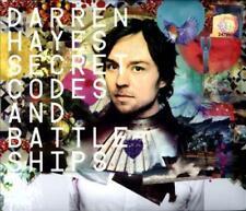 DARREN HAYES - SECRET CODES & BATTLESHIPS USED - VERY GOOD CD