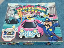 Vintage 1990 Rose Art Traffic Jam Family Board Game 100 % Complete Rare Find