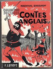 R. SINGOUROFF CONTES ANGLAIS COLLECTION FOLKLORE 1963 ILLUS. DE LASSAUVAJUE