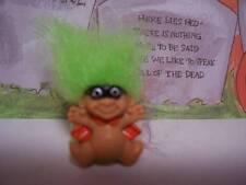 HALLOWEEN MASKED MAN RING - Russ Troll Dolls - NEW - Very Rare