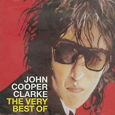John Cooper Clarke Very Best Of CD *SEALED* Evidently Chickentown Gimmix
