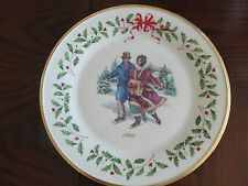 Lenox Annual Holiday Collector'S Plates 8Th In The Series 1998 Couple