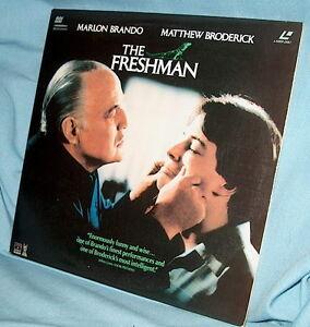 LD Laserdisc THE FRESHMAN w/ MARLON BRANDO/MATTHEW BRODERICK/PENELOPE ANN MILLER