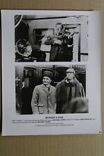 (X11)US-Pressefoto MICHAEL CAINE/BEN KINGSLEY - Without Clue 1988