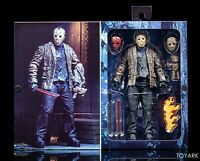 "NMIB NECA, Freddy vs Jason, Friday the 13th 7"" Ultimate Action Figure"