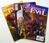 Marvel HOUSE OF M: MASTERS OF EVIL (2009) #1 2 3 VF/NM to NM LOT Ships FREE!
