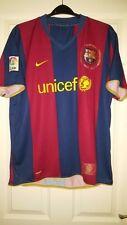 Mens Football Shirt - FC Barcelona - Nike - Home 2007-2008 - Red & Blue 50 Years