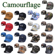 Camourflage Under Armour Golf Baseball Cap Embroidered Unisex Women Men Sun Hats