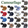 Camourflage Under Armour Golf Baseball Cap Embroidered Unisex Women Men Sun Hat
