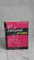 Martine Janet - Esclavo Lesbos-1956-Ediciones DE Alma