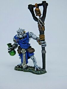 Painted D&D Dragonborn wizard 1 fantasy Frostgrave