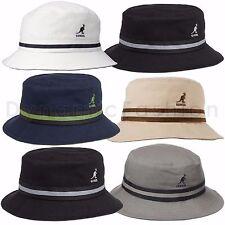 dda1cdb4419 Authentic KANGOL Stripe Lahinch Bucket 100% Cotton Cap Hat Style K4012SP