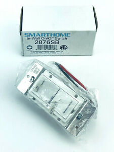 Smarthome In-Wall On/Off Switch 2876SB INSTEON - White