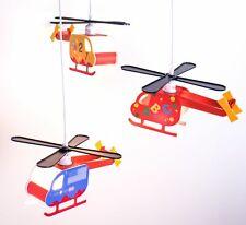 LED Kinder Pendelleuchte Hubschrauber Peters-Living Hawk Helikopter Hängelampe