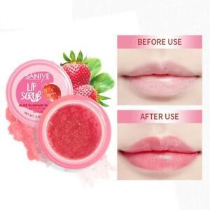 Lip Scrub Smooth Lip Balm Moisturizing Lip Mask Wrinkle Natural Gel Lip Care