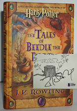 *SIGNED* FINE 1ST/1ST EDITION~ THE TALES OF BEEDLE THE BARD ~J.K. ROWLING,W. LOA