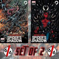 🚨🕷🔥 SPIDER-MAN SPIDER'S SHADOW #1 Variant Set Of 2 HOTZ & MERCADO Trade Dress