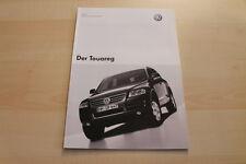 82848) VW Touareg - Preise & Extras - Prospekt 09/2002
