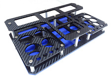 Vape stand Cronos carbon look(black-blue)