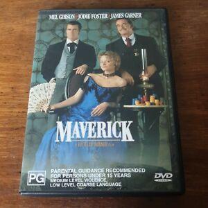 Maverick DVD R4 Like New! FREE POST