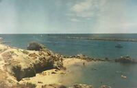 Entrance to Balboa Bay in Corona Del Mar, California Vintage Postcard