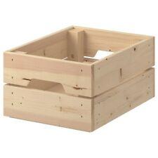 IKEA KNAGGLIG Box, pine, Storage Box