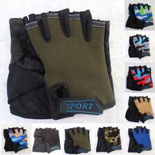 Kinder Sporthandschuhe Halbfinger Fingerlose Handschuhe Geeignet Für 7-9 Jahre