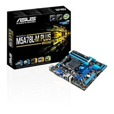 Asus M5A78L-M PLUS/USB3 AMD AM3+ DVI/VGA/HDMI/ RAID 0,1,10 MATX MB - NEW