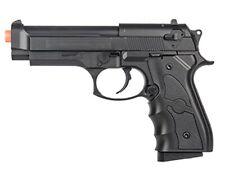 AIRSOFT SPRING HAND GUN PISTOL G52B w/ BBs FULL SIZE M9 BERETTA BLACK 6mm BB