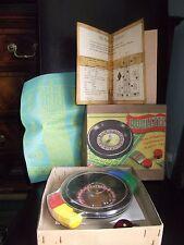 Vintage juego de la ruleta una producción codeg