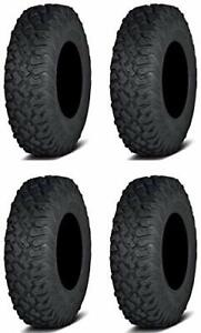 Full set of ITP Coyote 8ply Radial 35x10-15 ATV Tires 4