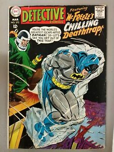Detective Comics #373. (1968) 2nd App of Mr. Freeze. 1st Time Called Mr. Freeze