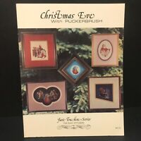 Puckerbrush 1985 Christmas Eve Counted Cross Stitch Chart Patterns (6)