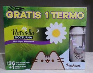 Pusheen Naturella  Sanitary Pads 36 Extra Large Nocturna + 1 thermo Pusheen
