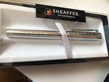 Sheaffer Intensity Chrome Fountain Pen, Fine Nib