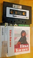 TINA TURNER The very best of,Team records, Black Music cassette tape collectable