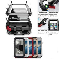 Aluminum Metal Waterproof Case For iPhone X 7 8 Plus XS Max 6s Shockproof Cover