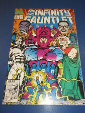Infinity Gauntlet #5 Galactus Thanos Avengers Warlock NM Gem
