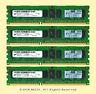 Micron Server RAM 16GB 4x 4GB PC3L-10600R ECC REG DDR3 1333 1Rx4 1.35v Memory
