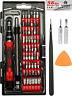 62 in 1 Precision Screwdriver Set Repair Tool Kit Magnetic Steel Specialty Bits