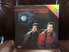 "New listing An American Werewolf in London 12"" Laserdisc"