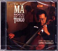 Yo-Yo MA: PIAZZOLLA Soul of the Tango Libertango CALANDRELLI Remembrances CD NEU
