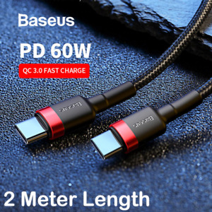 Fast Speed Charging USB C Type C Data Charger Cable For Samsung Huawei Google LG